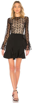 GOEN.J Lace Long Sleeve Dress