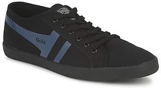 Gola QUATTRO men's Shoes (Trainers) in Black