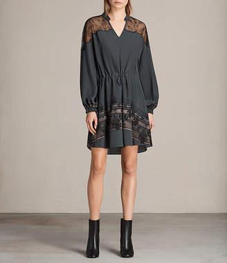 AllSaints Laya Baroco Dress