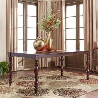 "Weston Home Abram 72"" Dining Table, Baluster Table Leg"