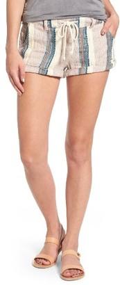 Women's O'Neill Malina Stripe Shorts $46 thestylecure.com