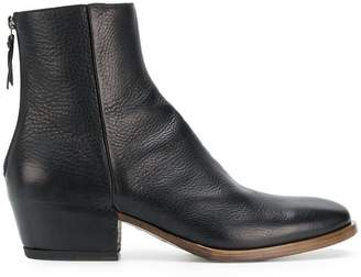 Givenchy matte ankle boots