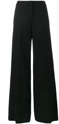 Alexander McQueen high waisted wide leg trousers