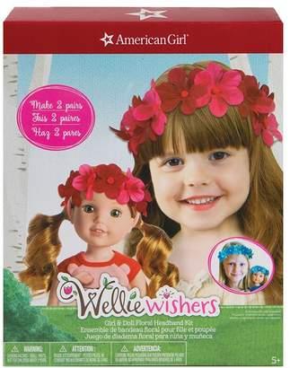 Fashion Angels WW Girl and Doll Floral Headband Kit