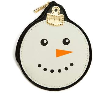 Forever 21 Snowman Graphic Coin Purse