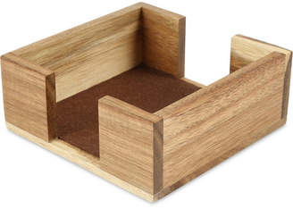 Thirstystone Square Acacia Wood Coaster Holder