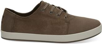 Toms Bark Oiled Suede Cotton Twill Men's Payton Sneakers