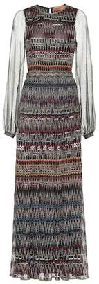 Missoni Striped knit maxi dress