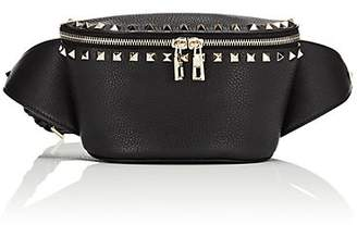 e3001585ad7c Valentino Women s Rockstud Leather Belt Bag - Black