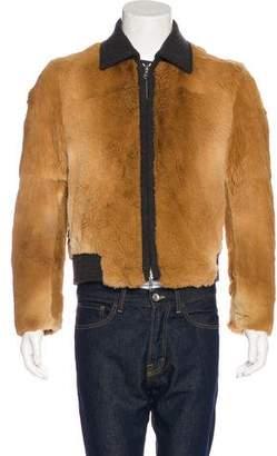Kenzo Kangaroo Fur Jacket w/ Tags