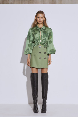 C/Meo Collective JUST THE SAME SKIRT green