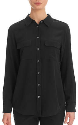 Equipment Slim Signature Silk Crepe Shirt