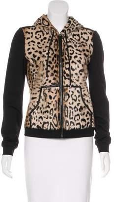 Diane von Furstenberg Fur-Paneled Elodie Jacket