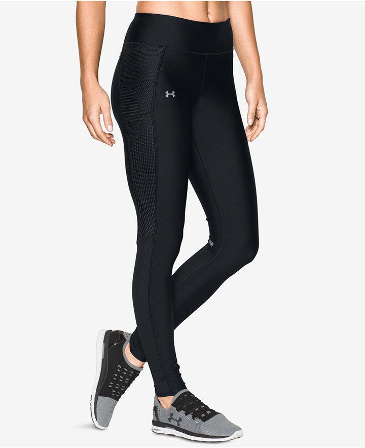 Under Armour Fly By HeatGear® Printed Running Capri Leggings