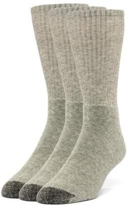 Galiva Men's Cotton ExtraSoft Crew Cushion Socks - 3 Pairs