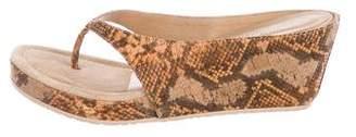 Donald J Pliner Printed Cork Sandals w/ Tags