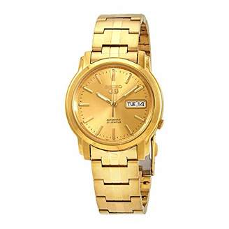 Seiko Men's Automatic Tone and Plated Casual Watch(Model: SNKK76)