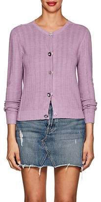 Marc Jacobs Women's Button-Detail Wool-Silk Cardigan