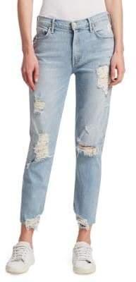 Mother Sinner Slim Boyfriend Jeans