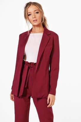 boohoo Violet Premium Tailored Blazer