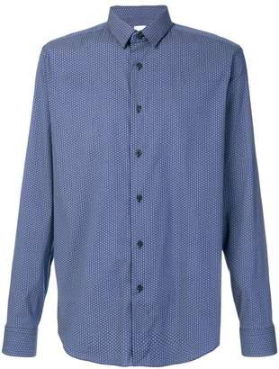 Xacus geometric patterned shirt