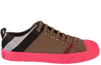 Burberry Multicolored Printed Sneakers Prices Cheap Online 3olMb