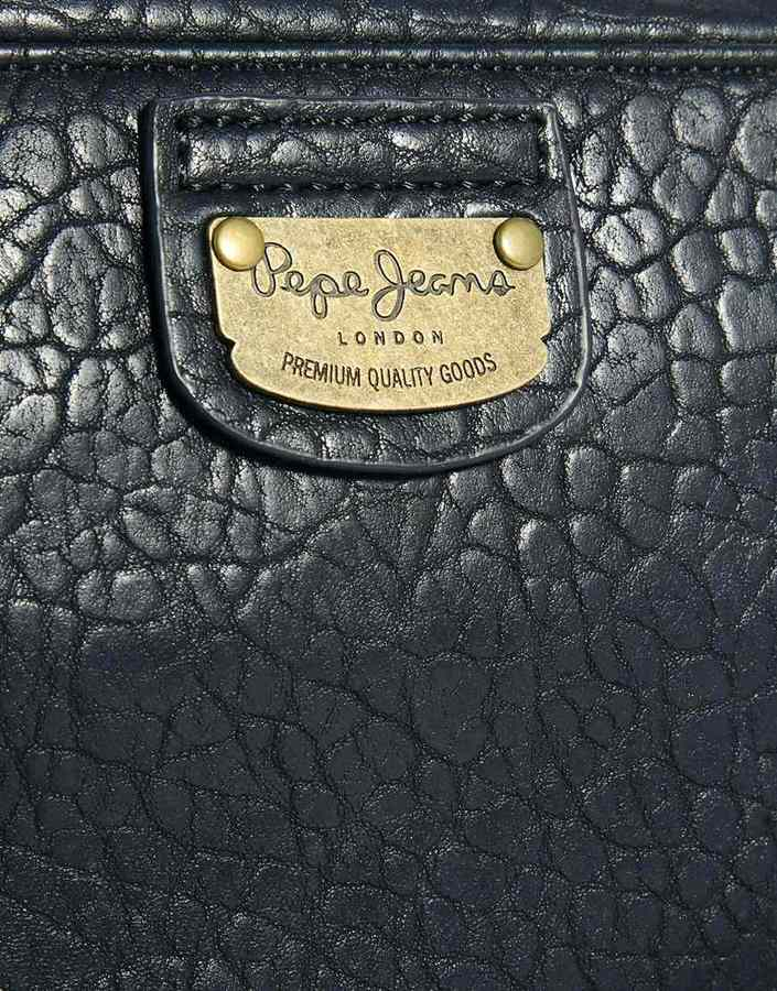 Pepe Jeans Fold Detail Cross Body Bag