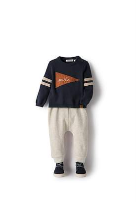 Country Road Flag Knit Crew
