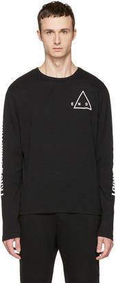 McQ Alexander McQueen Black Kid T-Shirt $195 thestylecure.com