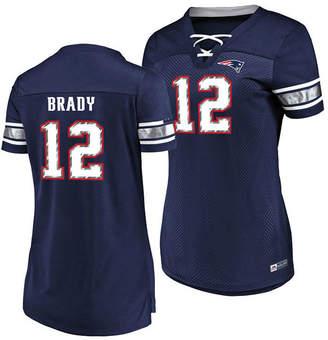 Majestic Women's Tom Brady New England Patriots Draft Him Shirt 2018