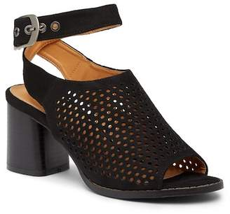 Catherine Malandrino Tonerf Perforated Heeled Mule