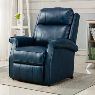 Comfort Pointe Lehman Leather Power Lift Assist Recliner Upholstery