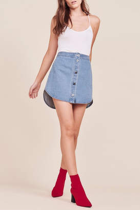 BB Dakota Macyn Denim Skirt