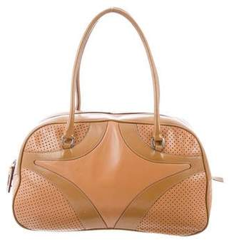 4b0f1a1cccad Prada Perforated Bauletto Bag