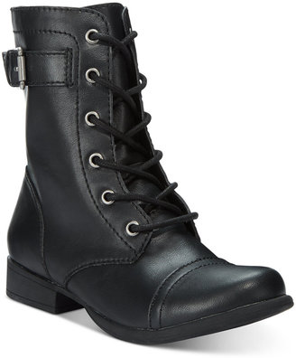 American Rag Faylln Combat Booties, Only at Macy's $59.50 thestylecure.com