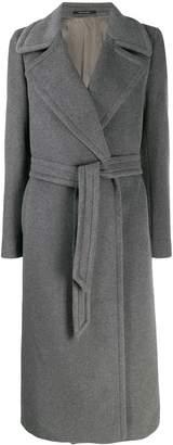 Tagliatore belted robe coat