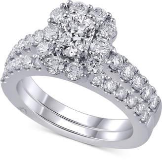 Marchesa Diamond Bridal Set (2 ct. t.w.) in 18k White Gold