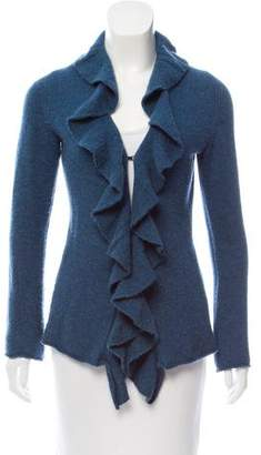 Magaschoni Open Front Cashmere Cardigan