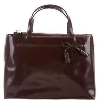 Anya Hindmarch Glazed Leather Bag