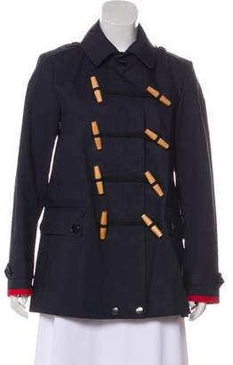 Burberry Collared Button-Up Coat