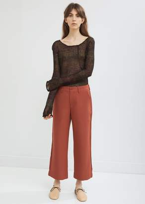 Acne Studios Flared Leg Cropped Trousers