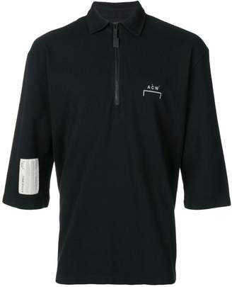 A-Cold-Wall* zip up polo shirt