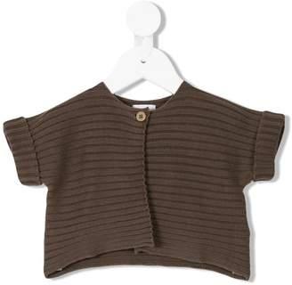 Il Gufo single button knit cardigan