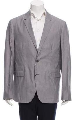 Calvin Klein Collection Striped Two-Button Blazer w/ Tags