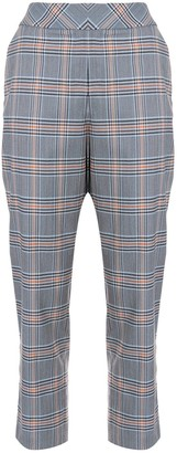 Dice Kayek mid-rise tapered leg suit trousers