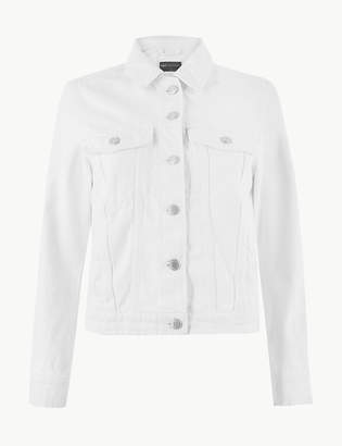 Marks and Spencer PETITE Pure Cotton Denim Jacket
