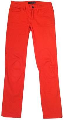 Lauren Ralph Lauren Orange Cotton - elasthane Jeans for Women