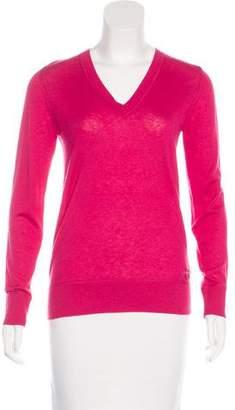 Moncler Silk & Cashmere-Blend Sweater