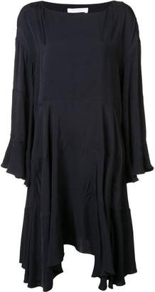 Chloé loose fit ruffled dress