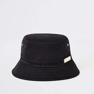 eae8daf4b34 River Island Womens Black bucket hat